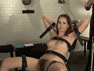 Bondage domme teaches act..