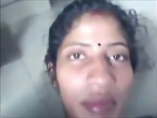Desi Tamil wife Sandhya love..
