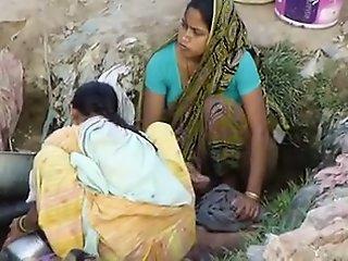 Indian Village Girl Spied In..
