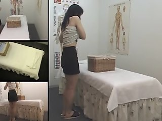 Hot Japanese voyeur massage..