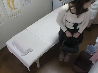 Creampie for hot Japanese in..