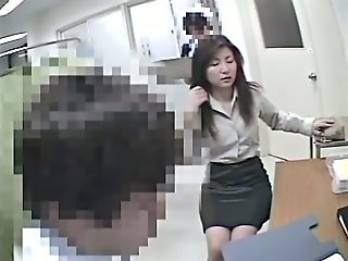 Asian pussies get voyeur..
