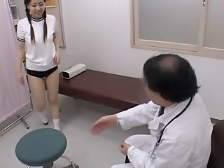 Asian twat receives medical..