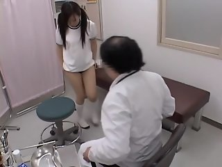 Sexy japanese is fingered..