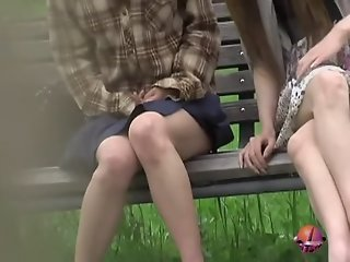 Bench sharking video of two..