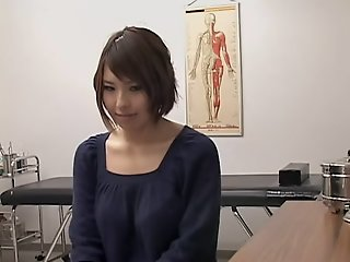 Busty Japanese toyed hard..
