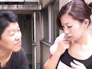 Skinny pale Japanese..