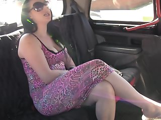 FakeTaxi: Black hair and..
