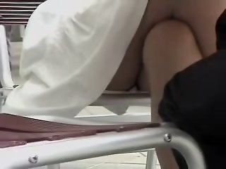 Sexy teaser shows her white..