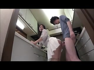 Japanese Mom Seduces the..