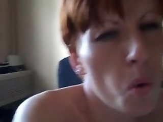 Wife watches hubby fuck her..