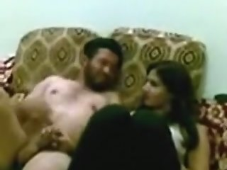 Arab slut fucks her husband..