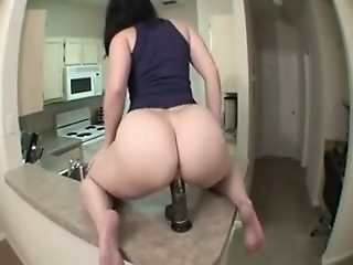 PAWG Takes BBC sex tool