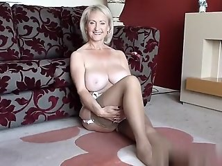 Golden-Haired Large Titty..