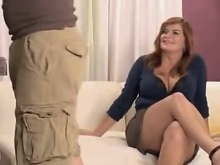 Bbw Milf Enjoys A Tough Fuck..