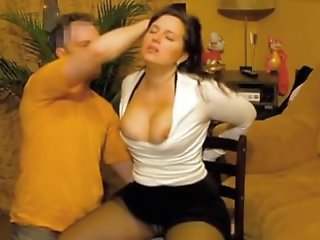 Submissive russian wife tied..