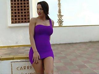 Colombian goddess Franceska..