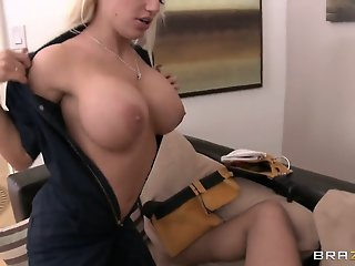 Horny blonde Keiran Lee fuck..