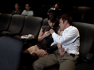 Naughty Blowjob In The Movie..