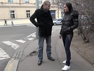 Cute Czech girl gets taken..