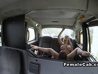 Female fake taxi driver has..