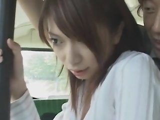 Female Teacher Chikan Bus
