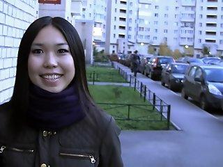 Yiki in asian slut enjoys..