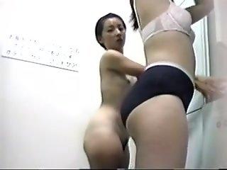 Hidden camera watching women..
