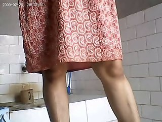 Lewd Bhabhi Undressed Shower..