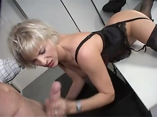 Mature with big tits riding..
