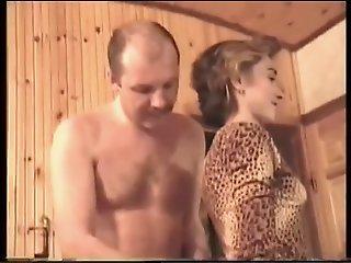 Alina in sauna (witch sound)