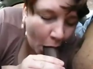 Sucking stranger cock