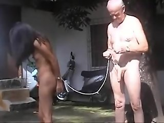Fabulous homemade BDSM adult..