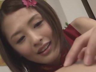 Exotic Japanese chick Yuki..