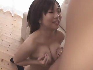 Exotic Japanese model Aozora..