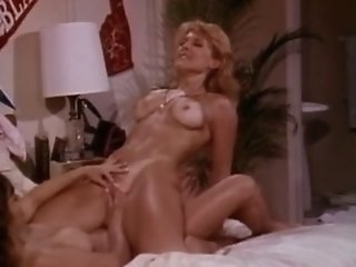 Horny pornstar Nina Hartley..