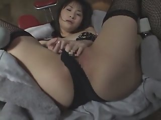 Amazing Japanese model in..