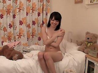 Exotic Japanese slut Nozomi..