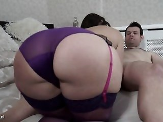 Sexy British milf with big ass