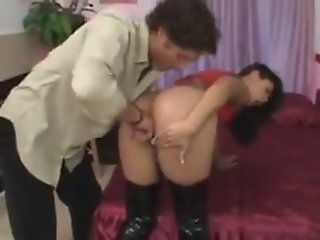 Bitch girl hard fucked