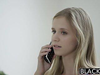 BLACKED Petite blonde teen..