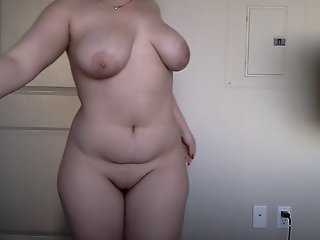 Teenage oily pawg with huge..