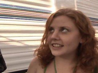 Runaway Redhead Teen Cherry..