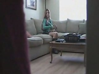 Babysitter Caught Masterbating