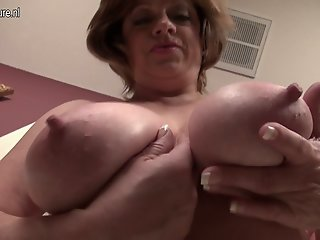 Mature American MOM with..