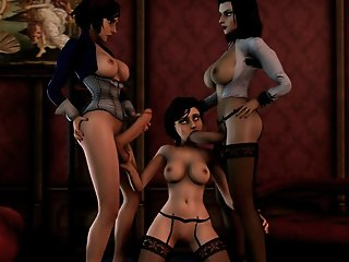 Bioshock 3D sex compilation