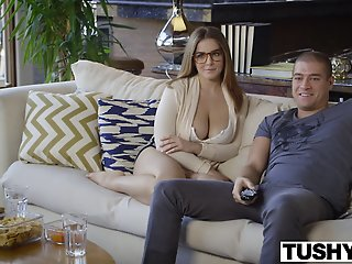 TUSHY First Anal For Curvy..