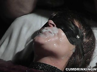 Amateur slut is the cum dump..