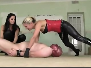 dominant babes torture a..