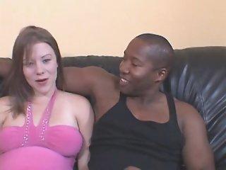 pregnant girl get a black cock